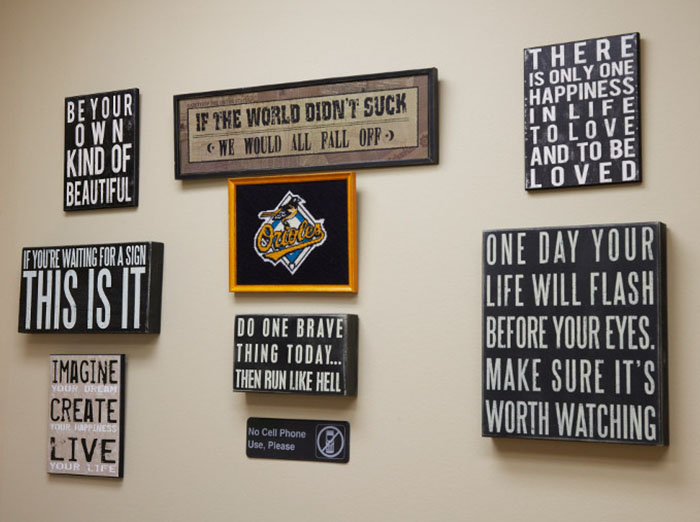 Signs on the Wall